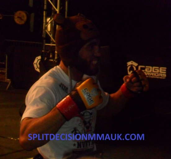 Jim Alers After Winning CW53 Belt
