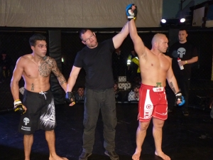 Dave Faulkner Wins At Dome MMA4