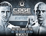 Cage Warriors 62 – Results