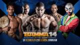 BAMMA 14 – Weigh In results