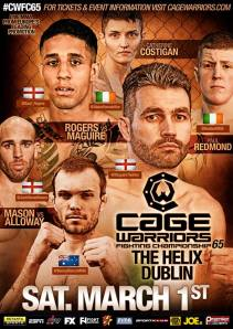 Credit: Cage Warriors