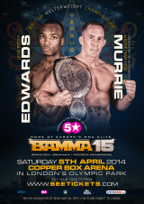BAMMA 15 announces Thompson's opponent & Murrie vs Edwards
