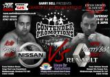 Charity K1 Kickboxing bout added to Contender Promotions