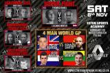 Contender Promotions: 4-man GP draw and title match ups added