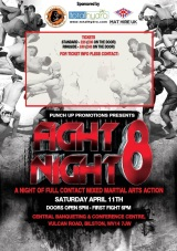 Punch Up Promotions – Fight Night 8: FullCard