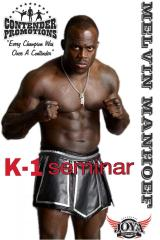 Melvin Manhoef heading to UK to host five seminars